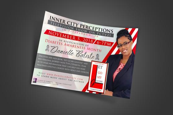 Danielle Batiste (Event Flyer)