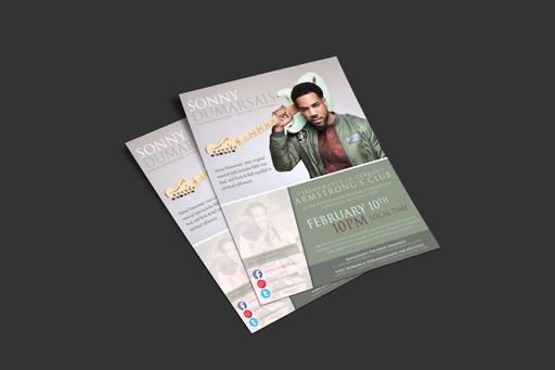 Sonny Dumarsais (Event Flyer)