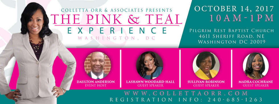 Pink & Teal Experience