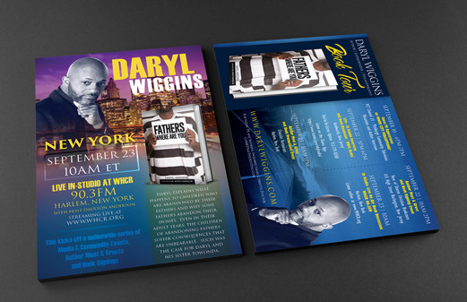 Daryl Wiggins (Promo Flyer)