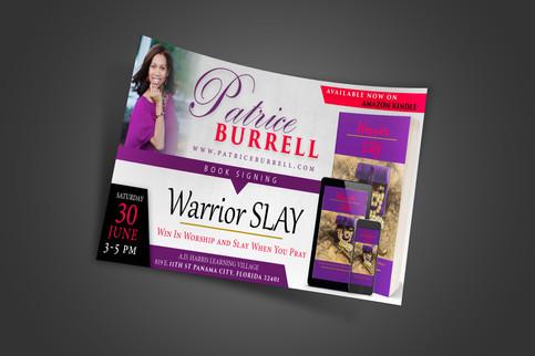 Patrice Burrell (Promo Flyer)