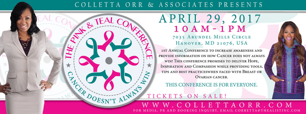 Pink & Teal Conference