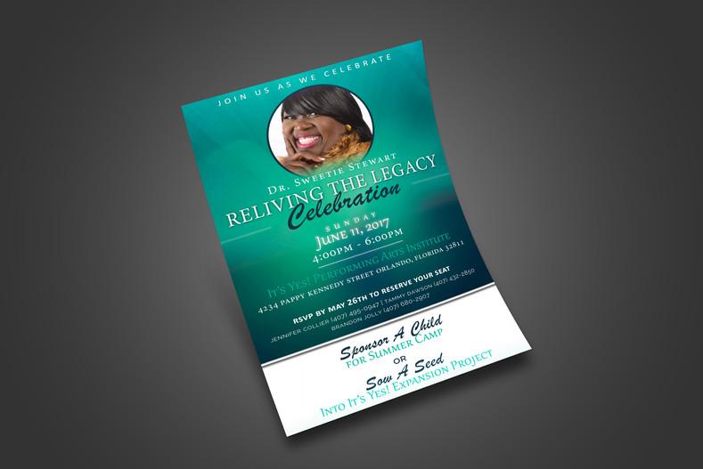 Servant Sweetie (Event Flyer)