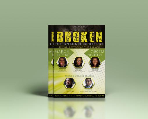 Broken Conference (Event Flyer)