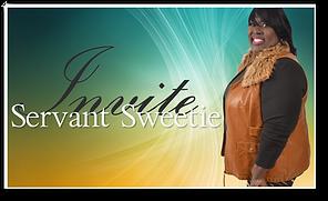 Servant Sweetie Invitation