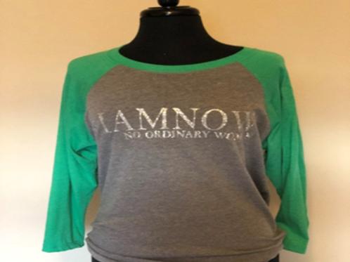 #IAMNOW - Baseball Shirt