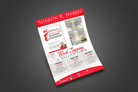 Sharon R. Harris (Event Flyer)