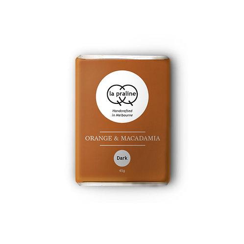 Orange & Macadamia - Dark Chocolate