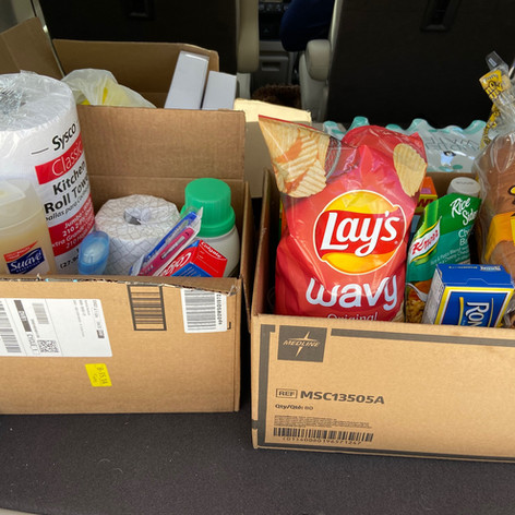 Food Deivery for Families in Need
