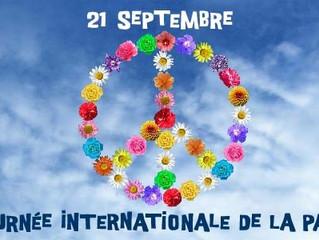 21 Septembre - Journée Internationale de la Paix