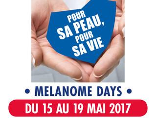 SEMAINE NATIONALE DE PRÉVENTION ET DE DÉPISTAGE DES CANCERS DE LA PEAU DU 15 AU 19 MAI 2017