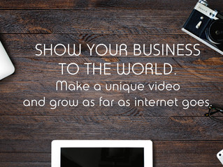 Make your business video today.