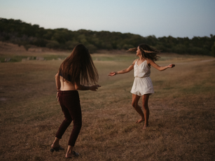 An Evening with Brittany and Jalina | nsfw adventure session