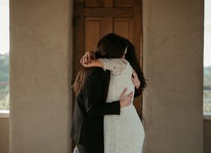 B + J | Free spirited and emotional elopement at Chapel Dulcinea