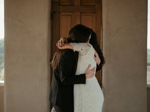 B + J | Free spirited and emotional elopement at Chapel Dulcinea