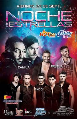 Poster Oficial Noche de Estrellas