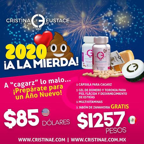 Paquete de Fin de Año - 2020 ¡A la mierda!