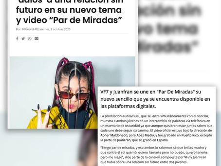 VF7 en los medios: Par de Miradas