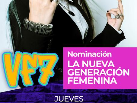 VF7 nominada a Premios Juventud 2021