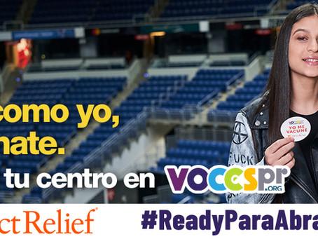 "Direct Relief presenta la campaña ""Ready para Abrazarnos"""