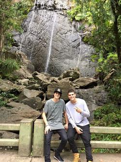 Vacaciones de Zabdiel y Chris en PR