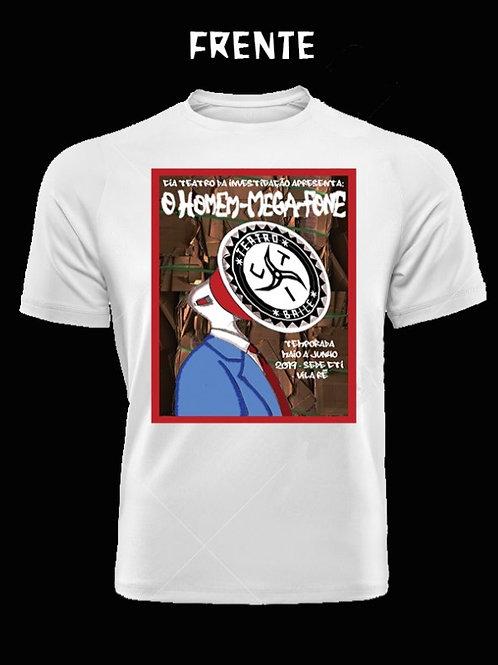 Camiseta O Homem-Mega-Fone