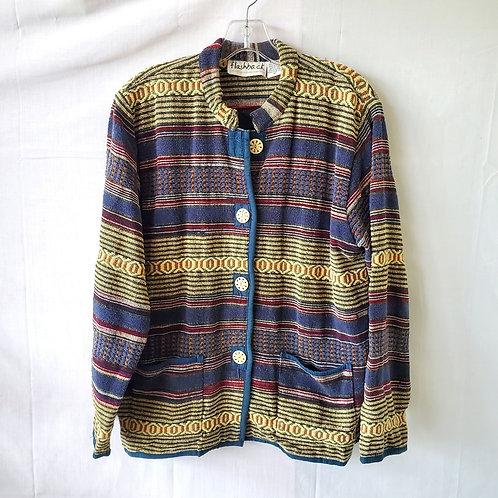 Flashback Cotton Tapestry Blazer - M