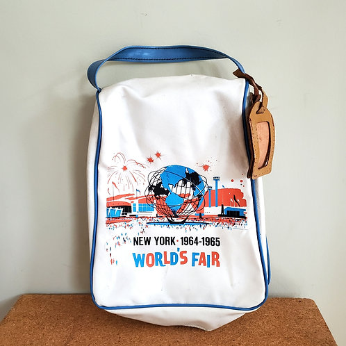 Vintage New York World's Fair Official Bag - as is