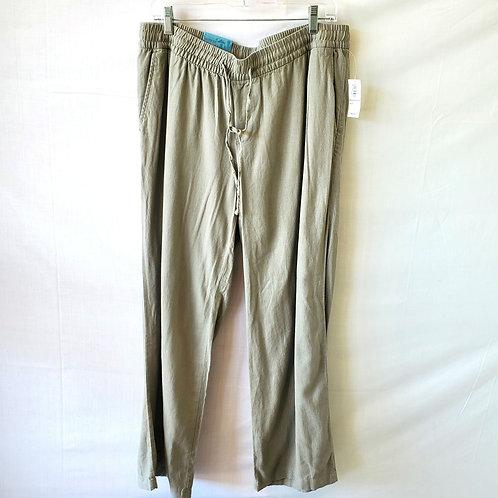 Old Navy Gray Wide Leg Drawstring Pants - L - New