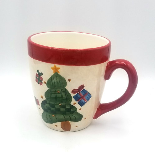 Oversized Christmas Tree Mug