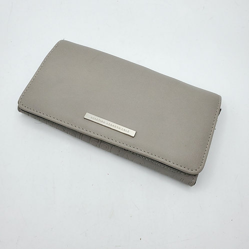 Kenneth Cole Reaction Gray Logo Wallet