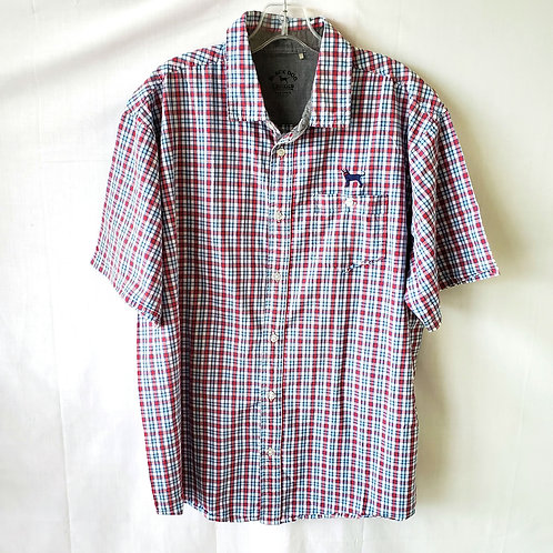 Black Dog Beachfront Collection Button Up - L