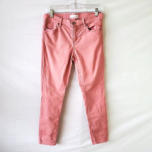 LOFT Blush Modern Skinny Jeans - size 4
