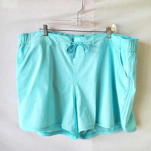 Land's End Seafoam Swim Shorts - 24W