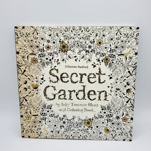 Secret Garden Coloring Book - as is