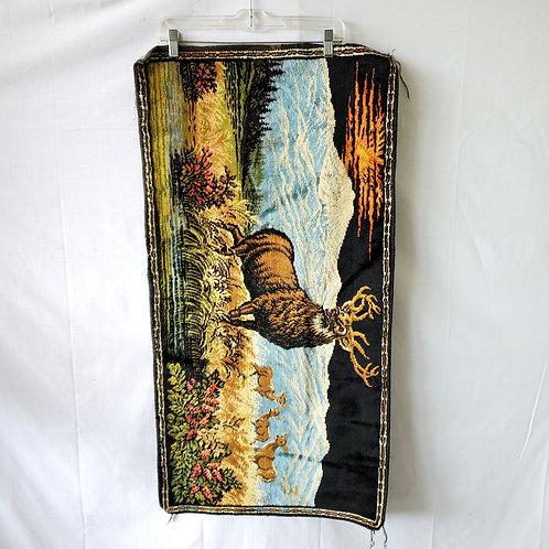 Vintage Stag Tapestry