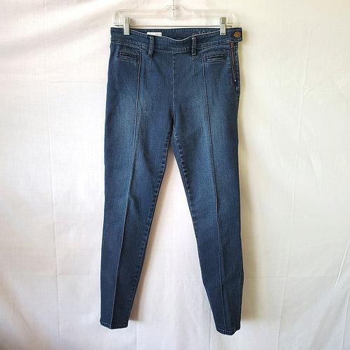GAP Always Skinny Jeans with Side Zipper - size 6