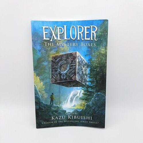 Explorer: The Mystery Boxes Graphic Novel