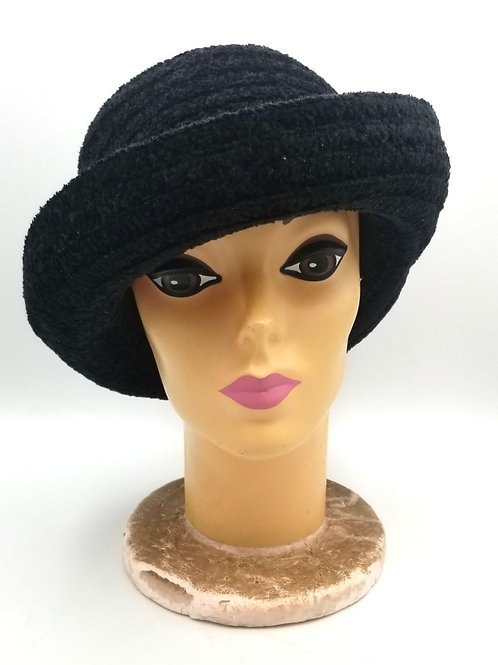 Betmar Black Hat with Brim