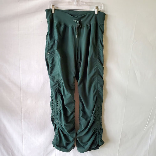 Zella Active Pants with Drawstring Ruching - size 12