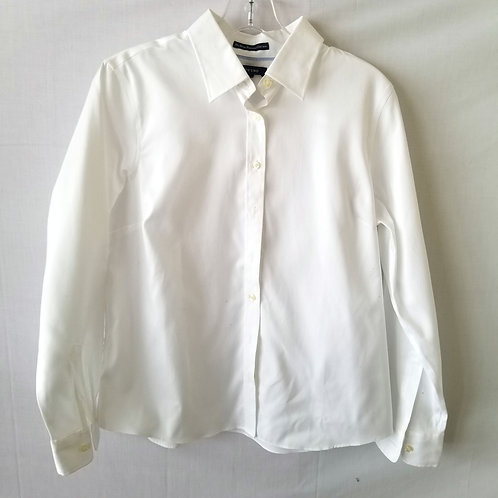 Land's End Pinpoint Oxford Shirt - size 12P