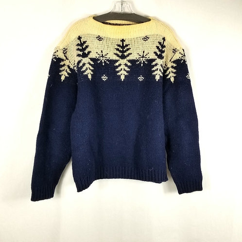 Vintage Ski Sweater - approx M