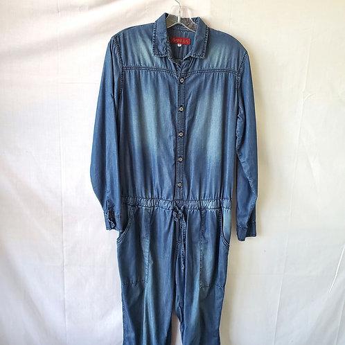 Isabella Chambray Jumpsuit - size 12