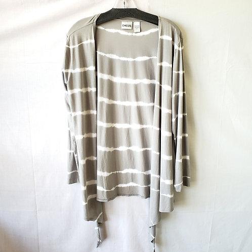 Chico's Tie Dye Open Cardigan - size 2/L