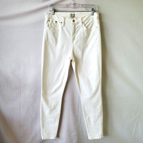 J Crew Lookout High Rise Skinny Jeans - size 31