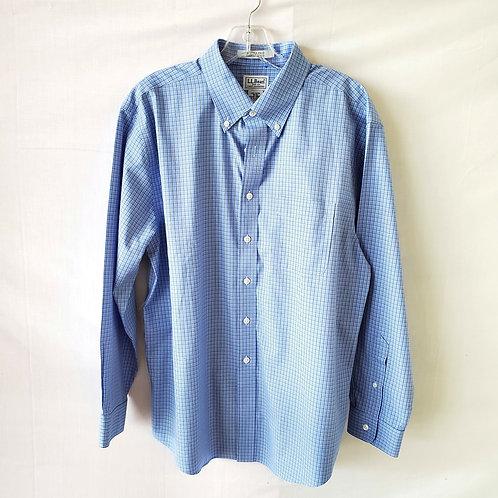 LL Bean Cotton Button Up Shirt - size 16-32