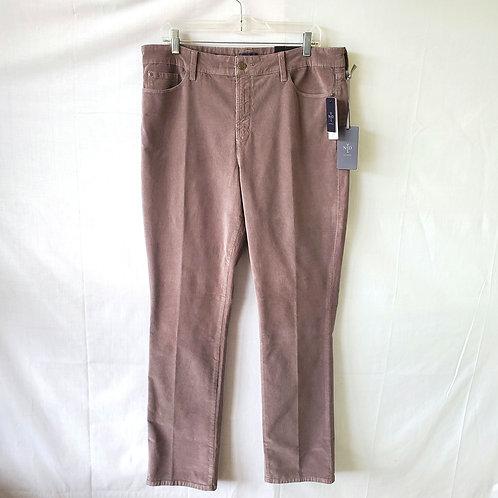 NYDJ Straight Corduroy Pants - size 16 - New