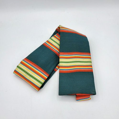 Vintage Rooster 'Signal Striped' Tie