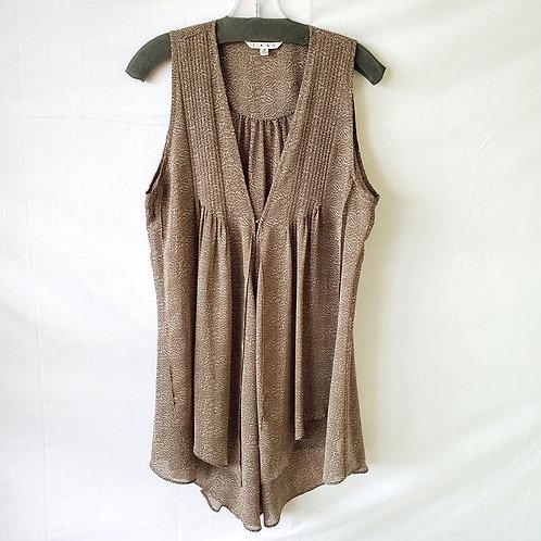 Cabi Sheer Silky Vest - M