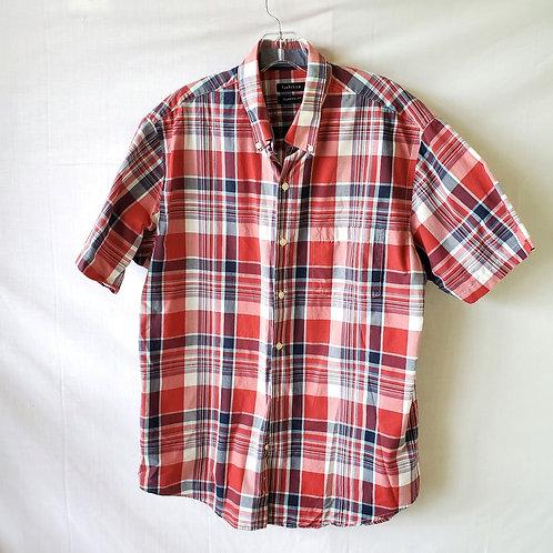 Van Heusen Classic Fit Plaid Shirt - L